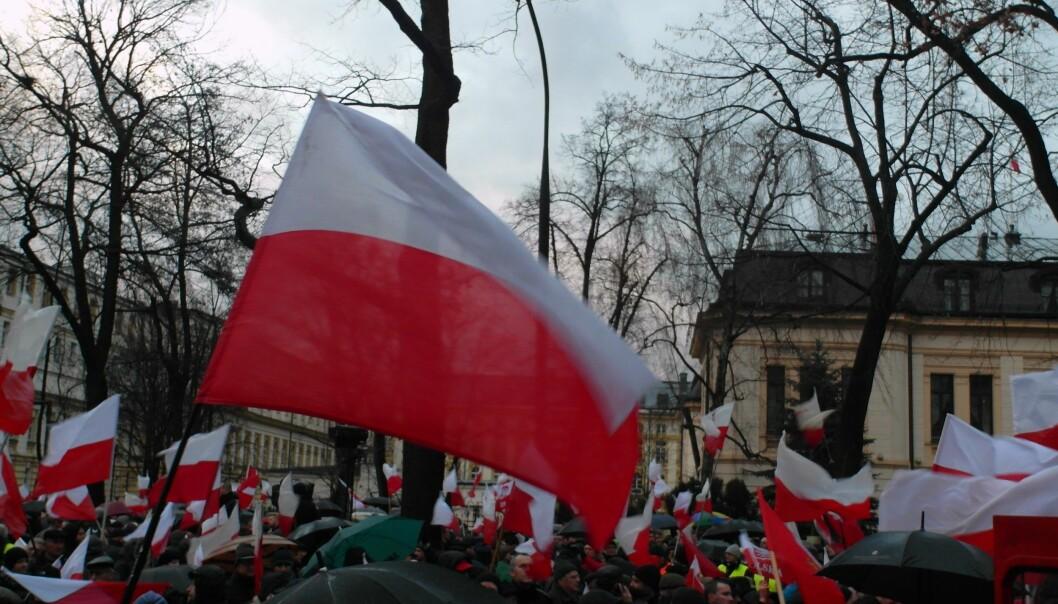 Demonstrasjoner mot innstramninger i abortloven i Warszawa. Foto: Maciej Szczepańczyk/ Wikimedia Commons.