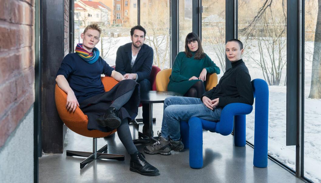 Kuratorene til Oslo Arkitekturtriennale 2019. Foto: OAT/Istvan Virag