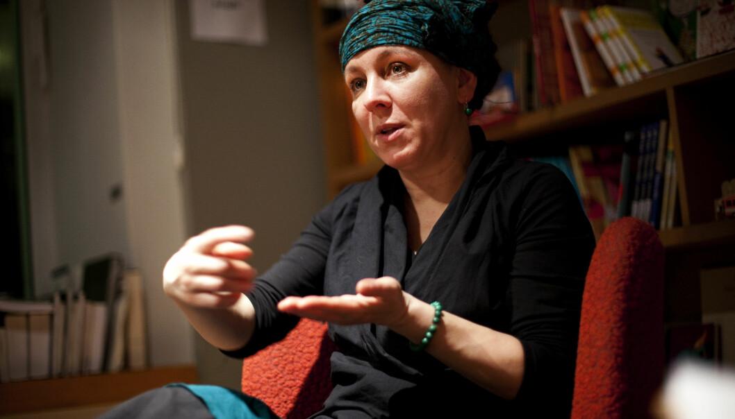 Olga Tokarczuk. Foto: Borys8, CC BY-SA 4.0.