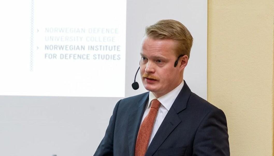 Magnus Håkenstad. Foto: Håvard Madsbakken/Forsvaret