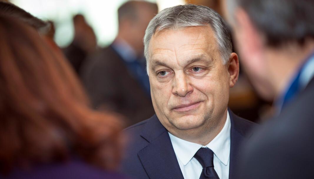 Ungarns statsminister Viktor Orban vil ikke kritisere Kinas knebling av demokratiet i Hongkong.