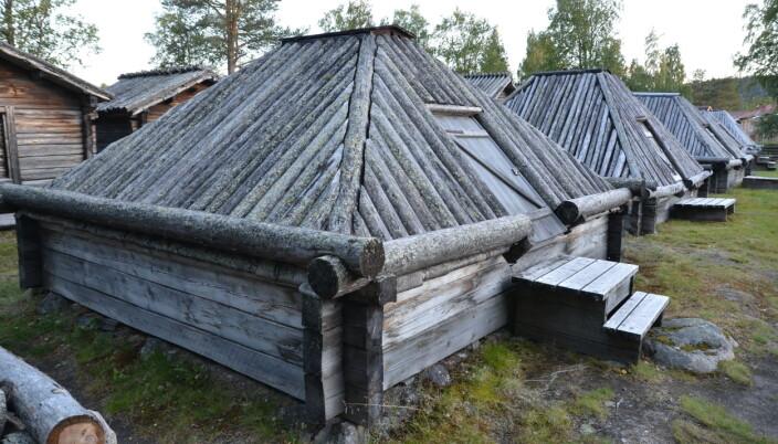 Stuene i Arvidsjaur hvor samene måtte bo under de obligatoriske kirkevistelsene.