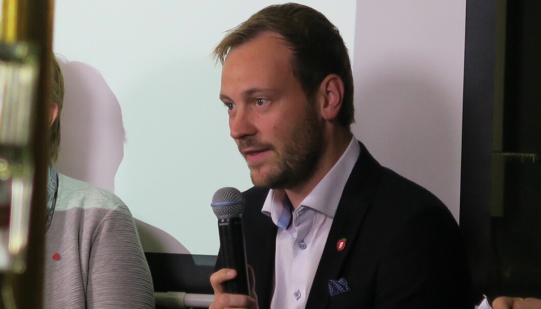 Stortingsrepresentant Sivert Bjørnstad (Frp). Foto: Peder Tollersrud/Eiendom Norge/Flickr (CC BY-SA 2.0)