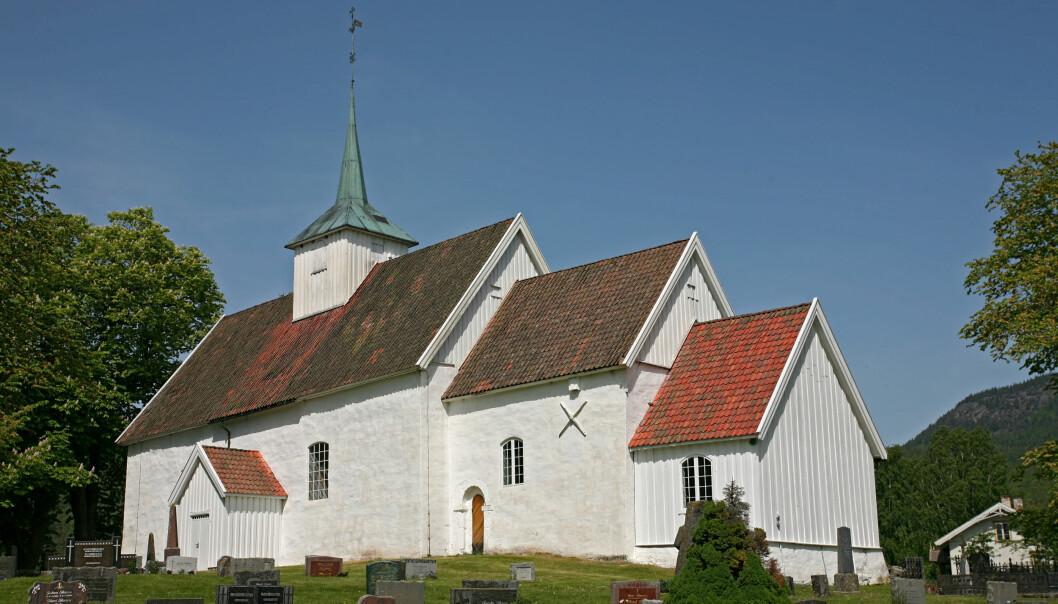 Stadig færre går i kirken, og de fleste av medlemmene tror ikke lenger på Gud. Foto: Trond Strandsberg/Wikimedia Commons (CC BY-SA 3.0)