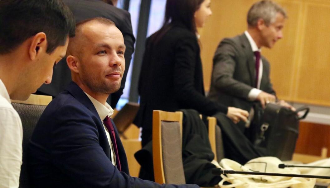 Alexander Lundgreen er en av 163 kandidater utdannet, eller under utdanning ved Eötvös Loránd University (ELTE) i Ungarn som deltar i søksmålet mot den norske stat. Foto: Maria Skarpaas Andersen.