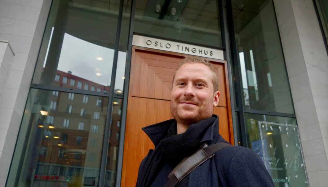 Leder i Psykologiforbundet, Nicklas Poulsen Viki. Foto: Maria Skarpaas Andersen.