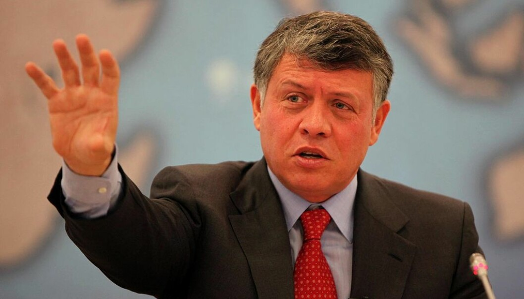 Kong Abdullah 2. styrer et autoritært monarki, ikke et demokrati.