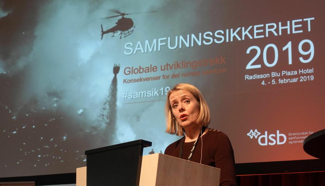 Politidirektør Benedicte Bjørnland er bekymret for ungdommen. Rusreformutvalget kan berolige henne.
