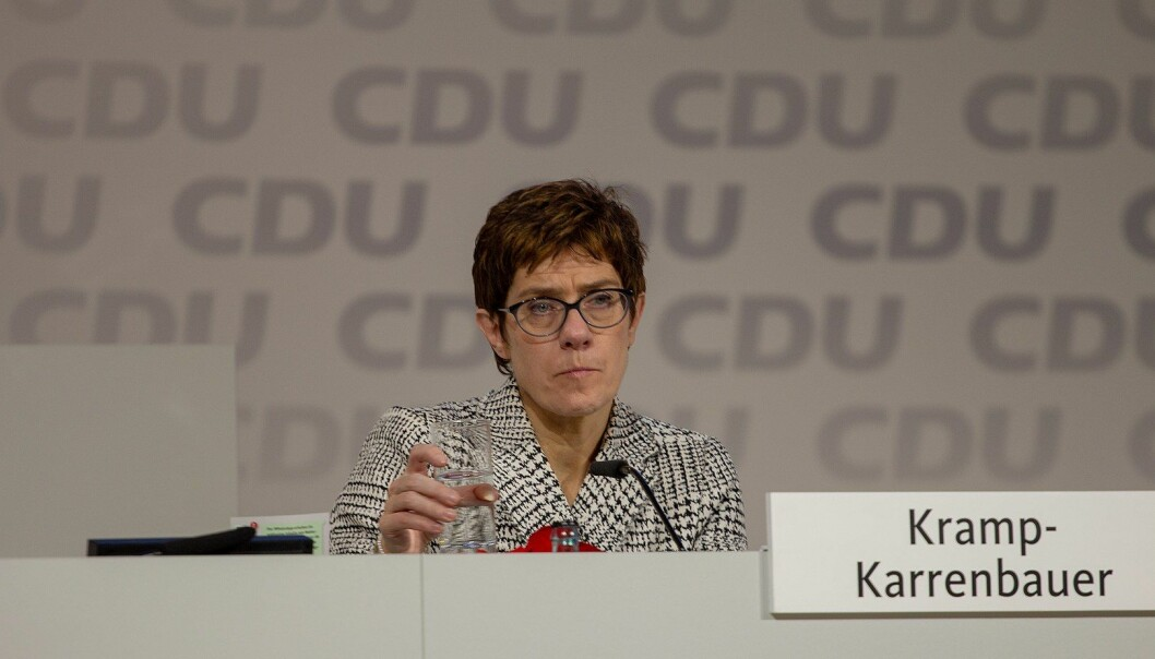 Annegret Kramp-Karrenbauer overtok som leder av CDU i desember 2018.