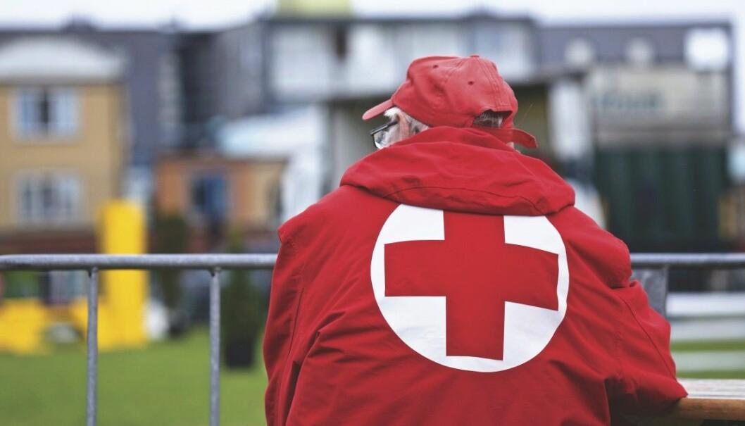 En leder i Røde Kors er «ferdig» etter å ha sendt en melding med seksuelt innhold til en kvinnelig frivillig.