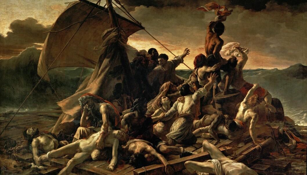 «Medusas Flåte» av Théodore Géricault (1818-1819)