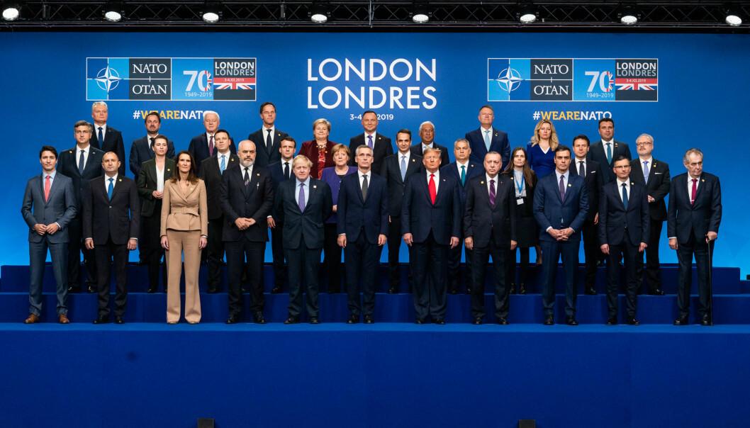 NATOs 70-årsjubileum ble markert i London 3. til 4. desember.