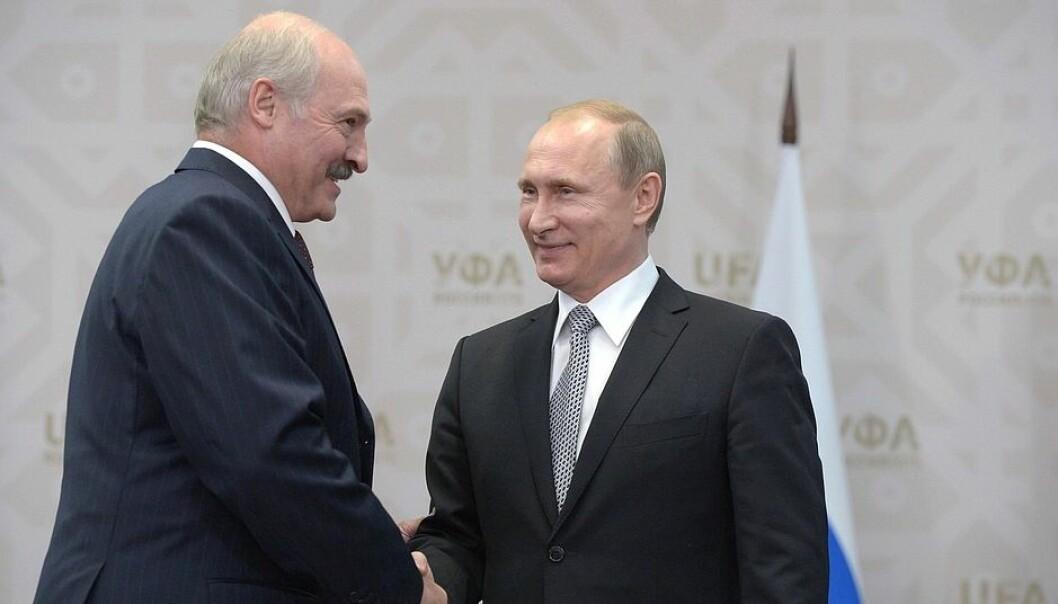 President i Hviterussland, Aleksandr Lukasjenko, og president i Russland, Vladimir Putin, har møttes for å diskutere en avtale om «fordypning» av unionen mellom de to landene.