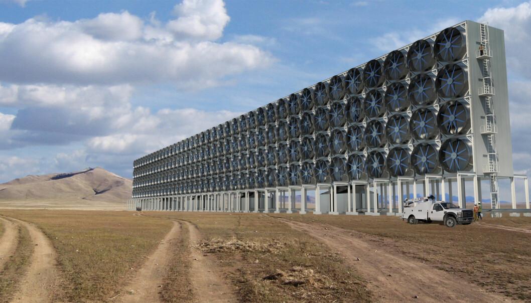 Ett av de mest spektakulære klimatiltakene er å suge CO2 ut av atmosfæren.