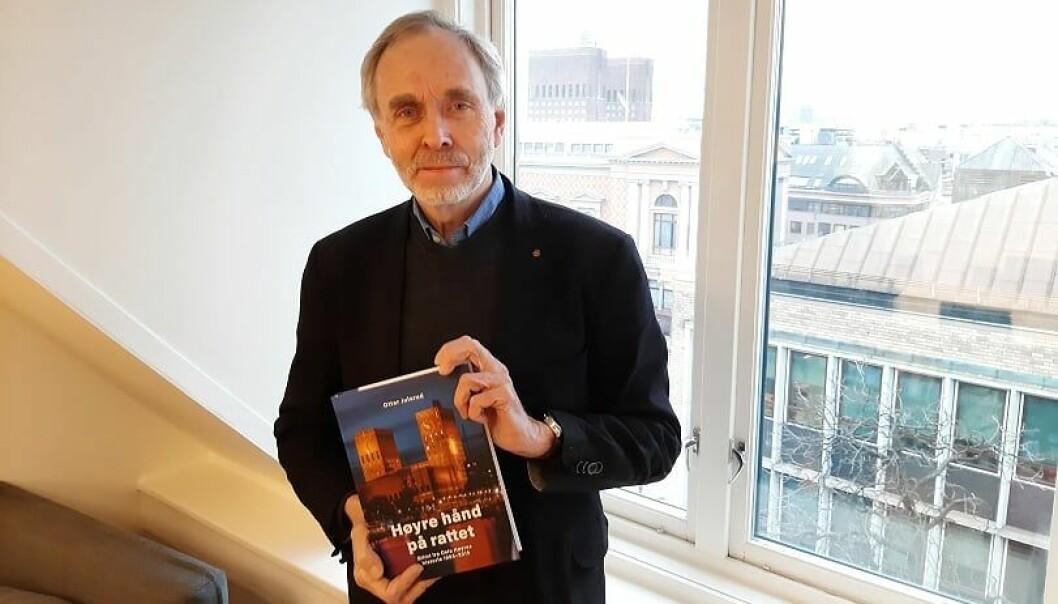 Ottar Julsrud er aktuell med boken «Høyre hånd på rattet - Glimt fra Oslo Høyres historie 1985-2015».
