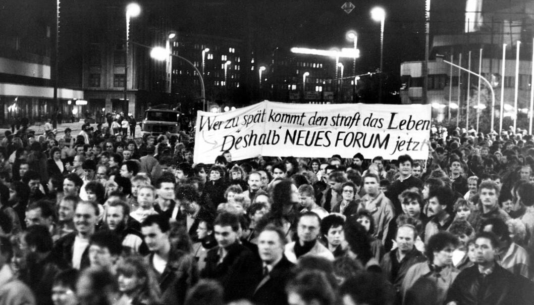 Demonstrasjonene i Leipzig i 1989