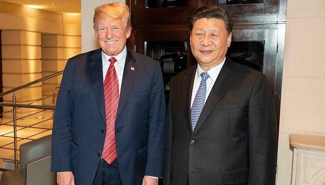 Når Trump ikke er opptatt med å trappe opp handelskrigen, har han mye pent å si om Kinas diktator Xi.