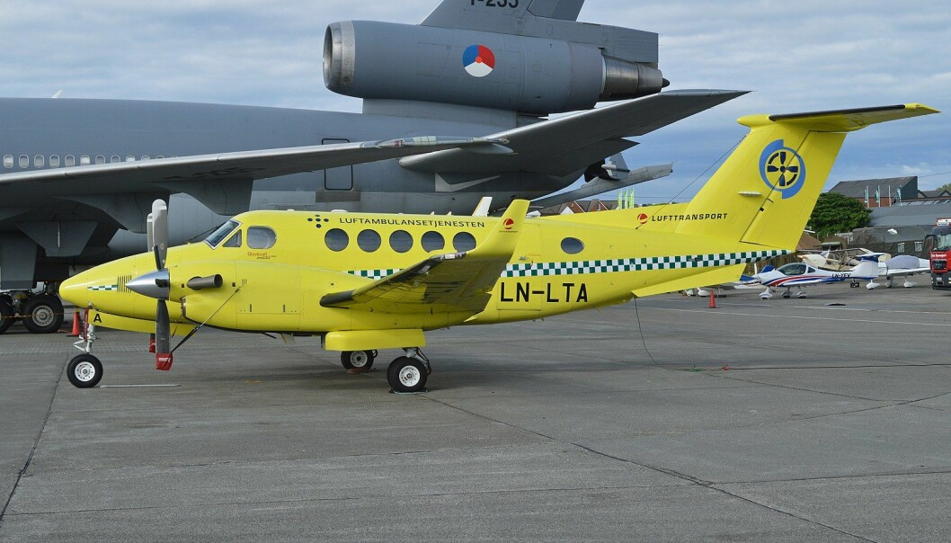 Babcock har store problemer med beredskapsbrudd i luftambulansetjenesten.