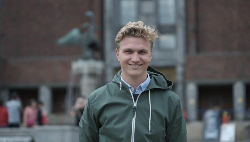 Nicolai Øyen Langfeldt (H) er kritisk til Arild Hermstads (MDG) forklaring av Oslos økte klimagassutslipp.