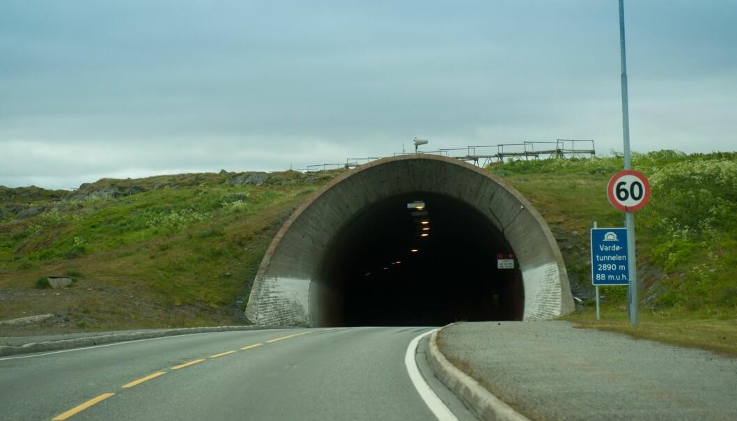 Vardø-tunellen.