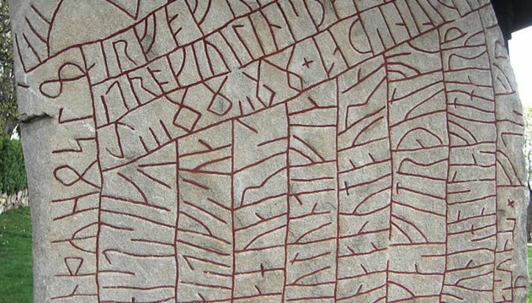 Lenge har man trodd at den 1200 år gamle steinene fortalte om myter krig og plyndring, men nye forskning viser at vikingene i stedet led av klimaangst
