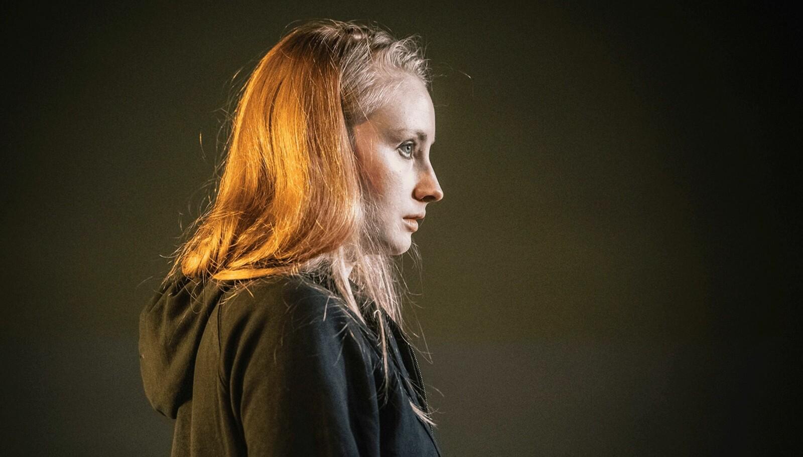 Gina Bernhoft Gørvell som Hedvig.