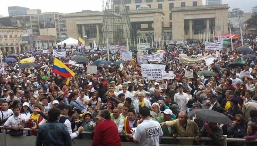 Colombia er preget av sosial uro og uvanlig mange drap på menneskerettighetsaktivister.