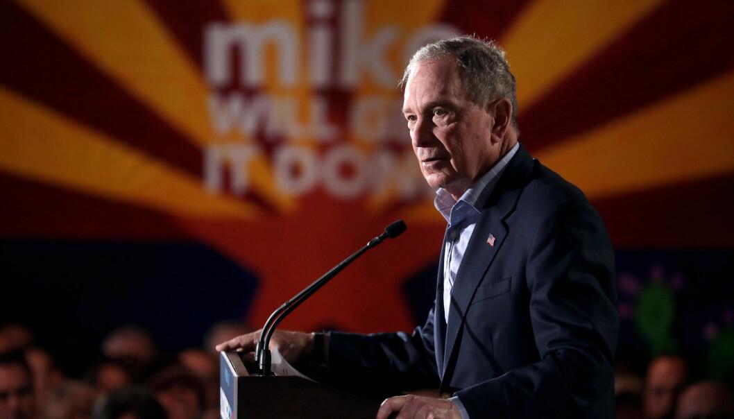 Mike Bloomberg kan lett få taperstempelet etter nattens debatt i Las Vegas.