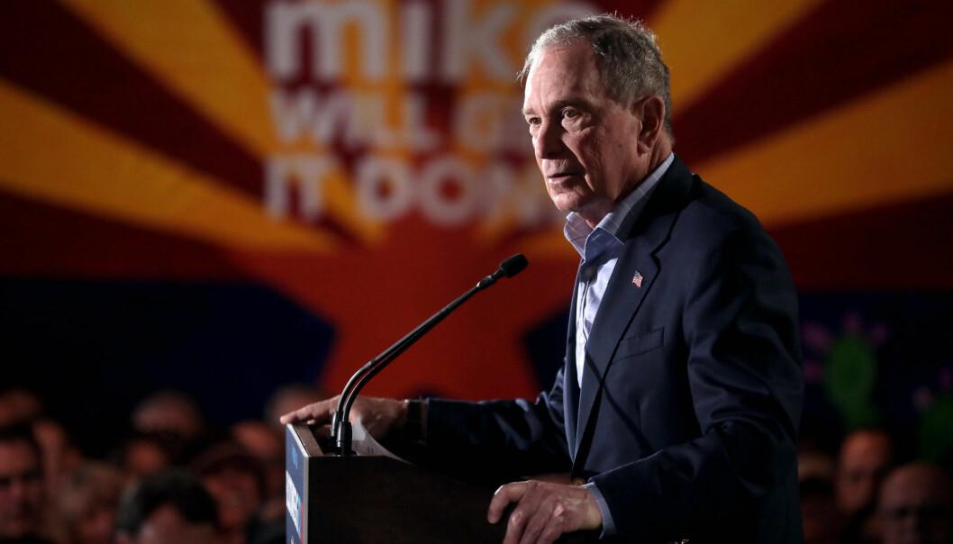 Michael Bloomberg har hatt vinden i seilene den siste tiden. I natt skal ha delta på sin første debatt i kampen om demokratenes nominasjon til presidentvalget.