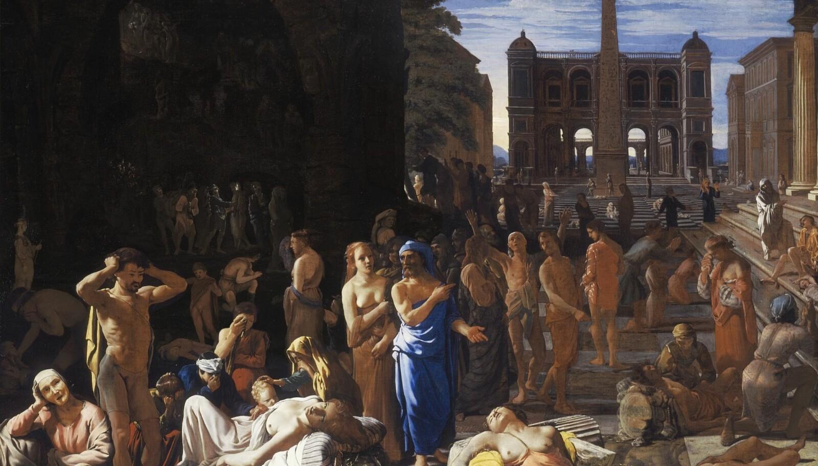 Michiel Sweerts, Pesten i Athen (1652-1654).