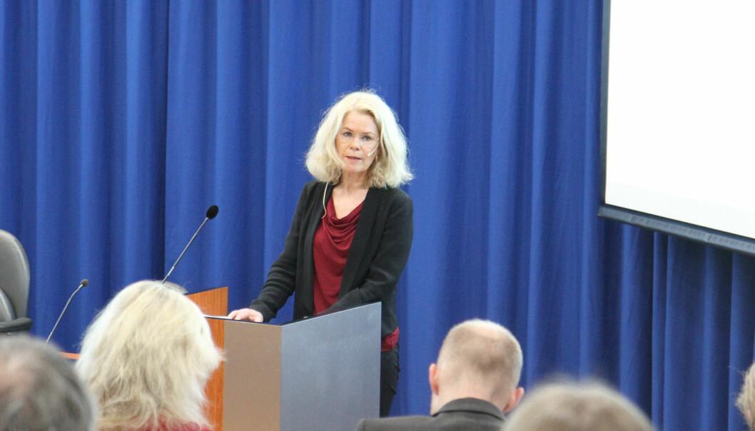 – Vi vil hjelpe til å virkeliggjøre gode prosjekter i en tid som både krever og skaper nye måter å formidle på, sier styreleder i Fritt Ord, Grete Brochmann.
