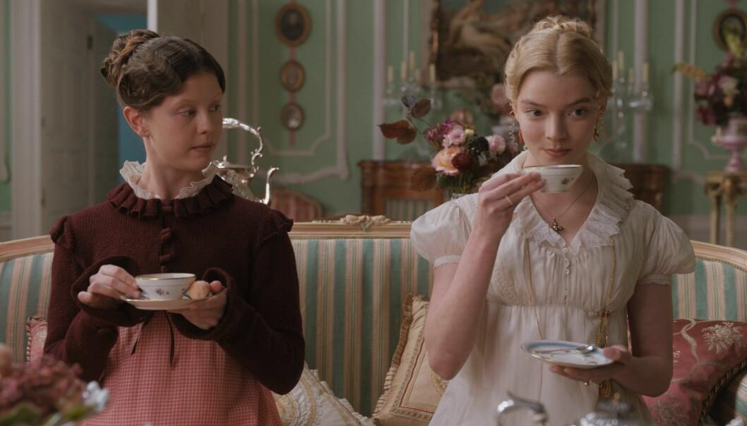 Den nye filmatiseringen av Jane Austens Emma blir nå tilgjengelig digitalt.