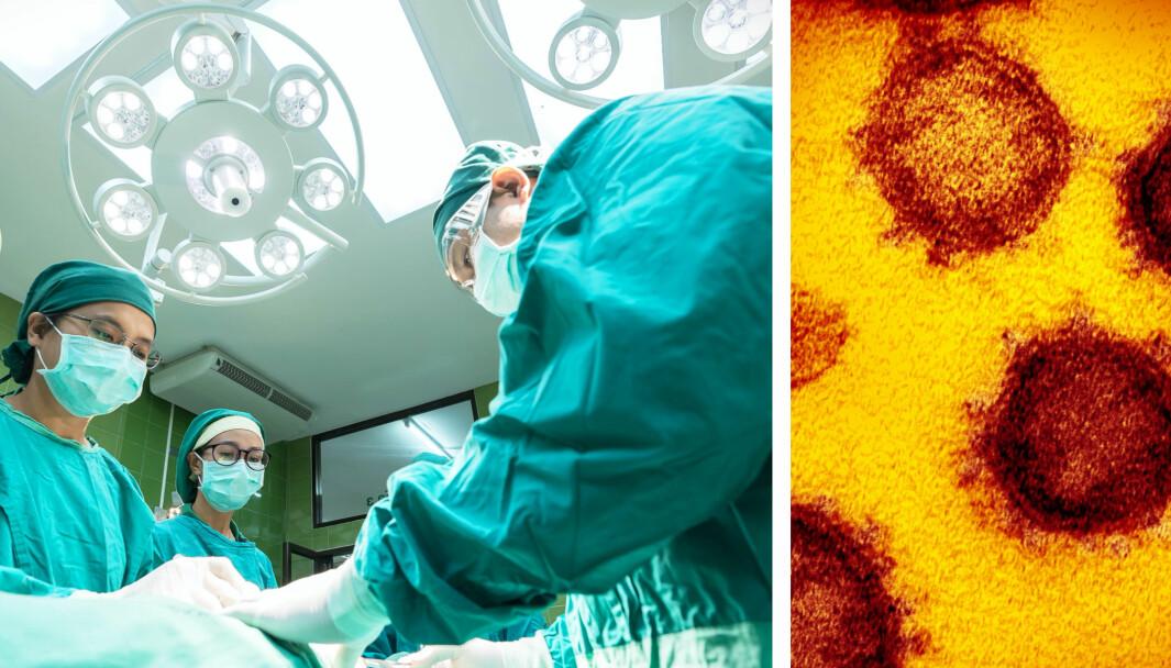 I Nederland har en rekke leger utført sine arbeidsoppgaver ved sykehus uten å være klar over at de har vært smittet av koronaviruset.