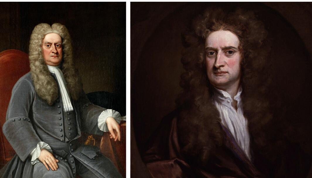 Newton brukte karanten bedre enn folk flest.