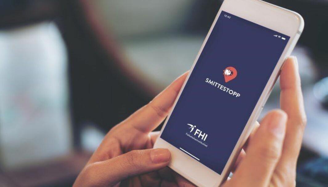 Smittestopp-appen