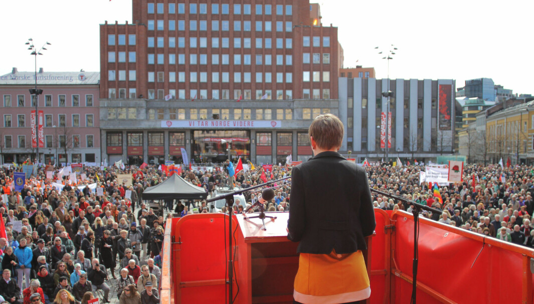 Youngstorget 1. mai 2013.