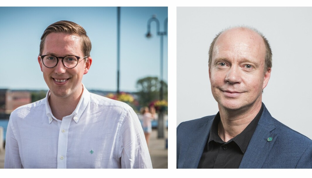 Kristian Tonning Riise fra Høyre og Ketil Kjenseth fra Venstre støtter endringer i bioteknologiloven. Nå vurderer de å stemme mot regjeringen i tirsdagens votering i Stortinget.