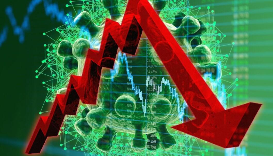 USAs BNP falt med omkring 9 prosent i annet kvartal.