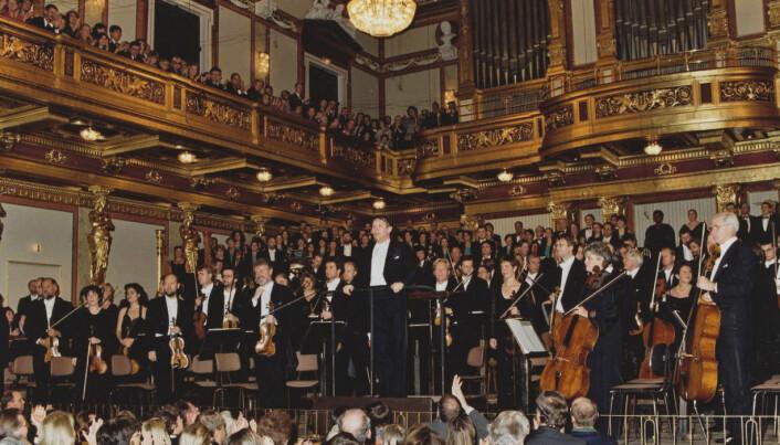 Oslo Filharmonien med Mariss Jansons i Wiener Musikverein (1997).