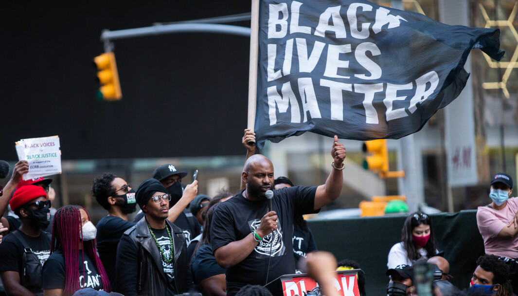Black Lives Matter-demonstrasjon i New York juni 2020