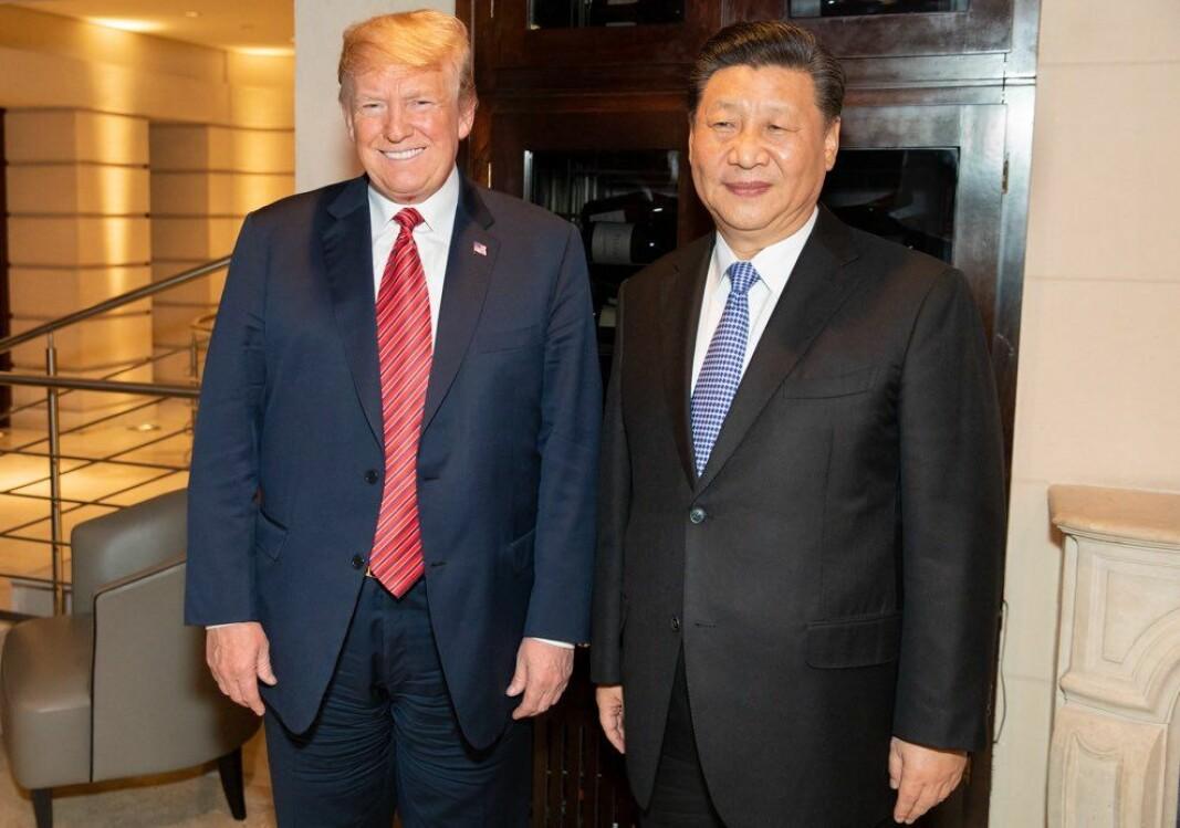 Donald Trump kniver med Kinas diktator om å ha minst tillit blant verdens toppolitikere.