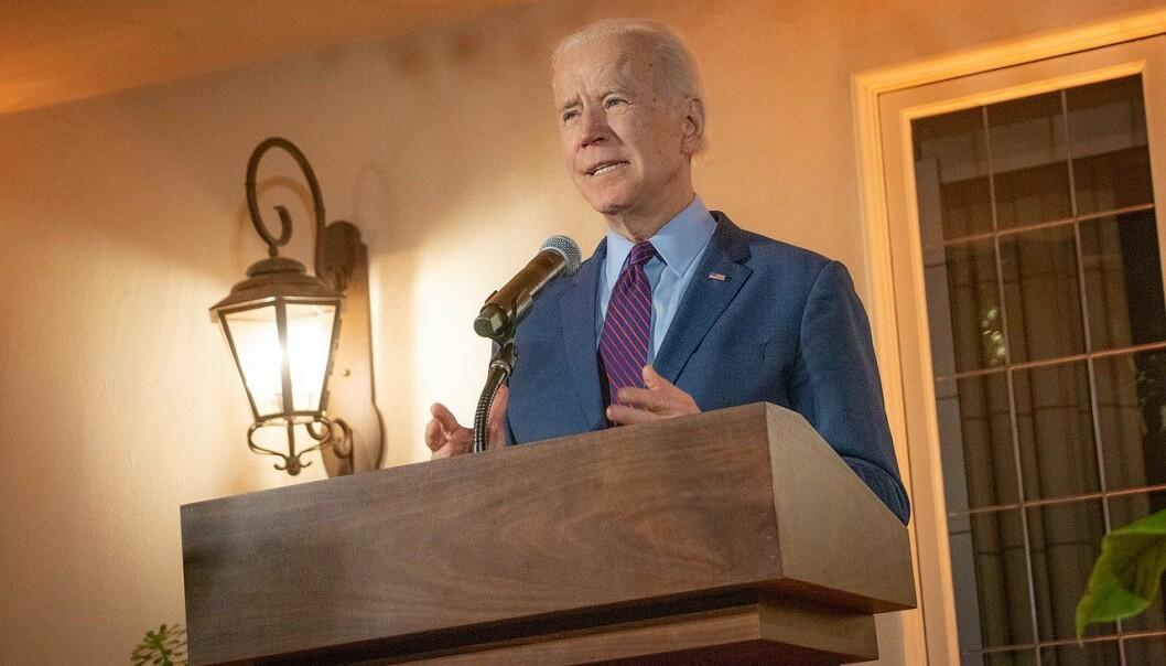 Joe Biden leder i meningsmålingene, men det er fremdeles lenge til valget.