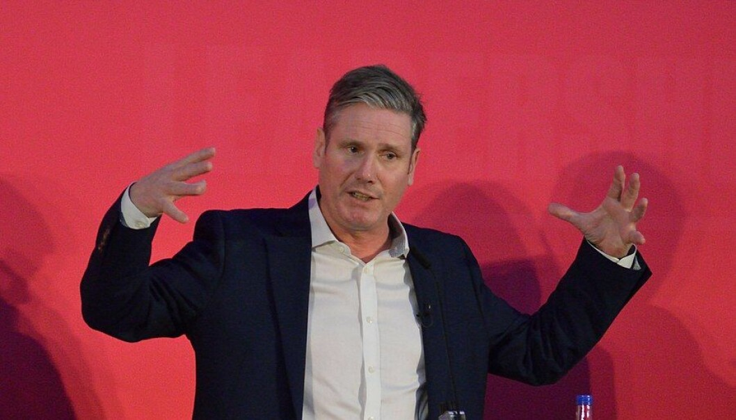 Keir Starmer fester grepet om Labour.