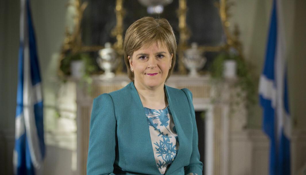 Førsteminister Nicola Sturgeons Scottish National Party har rom til å føre sin politikk nokså uforstyrret, skriver Kathrine Jebsen Moore. Nå ser det ut til at det skotske parlamentet vil vedta en lovendring som vil stramme inn skotters mulighet til å ytre seg fritt.