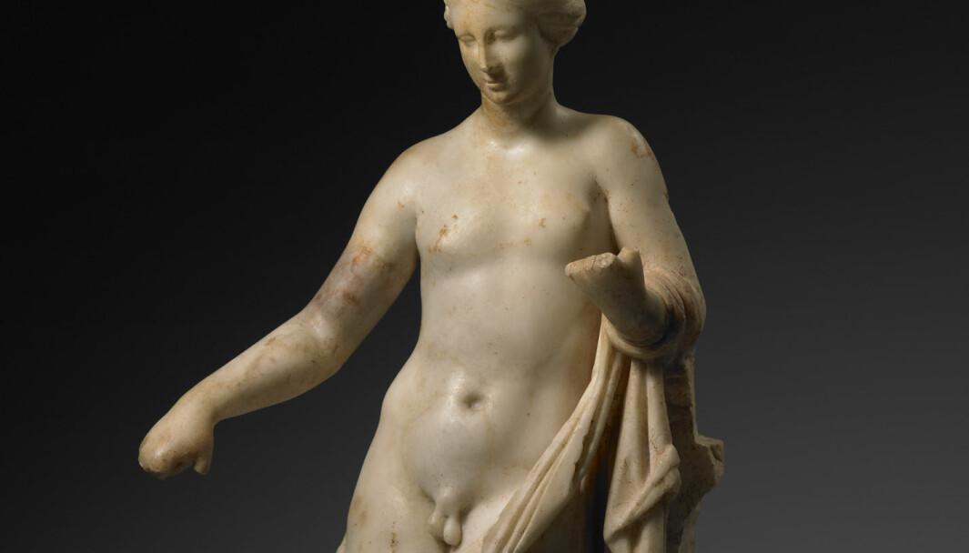 Kjønnet til Hermafroditos er tvetydig, og kan symbolisere ikke bare tvekjønnethet, men i en moderne kontekst, også kjønnsinkongruens.