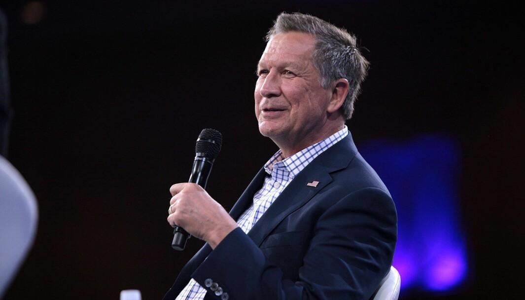Tidligere Ohio-guvernør John Kasich oppfordrer andre republikanere til å støtte Joe Biden.