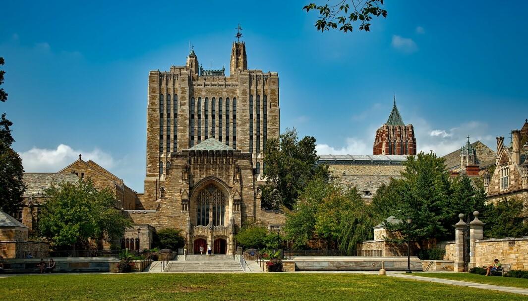 Anklager om urettmessig diskriminering mot Yale universitet.
