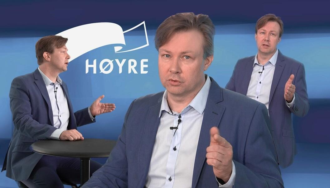 Simen Sandelien har blitt kontaktet av folk i Høyre og andre partier som forteller at de selv er i gang med egen videoproduksjon til bruk i nominasjonskampen.