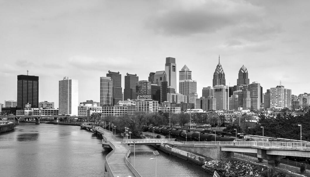 Skyline i Philadelphia