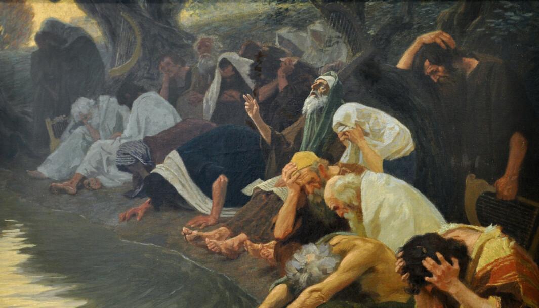 Gebhard Fugel (1863-1939): «An den Wassern Babylons».